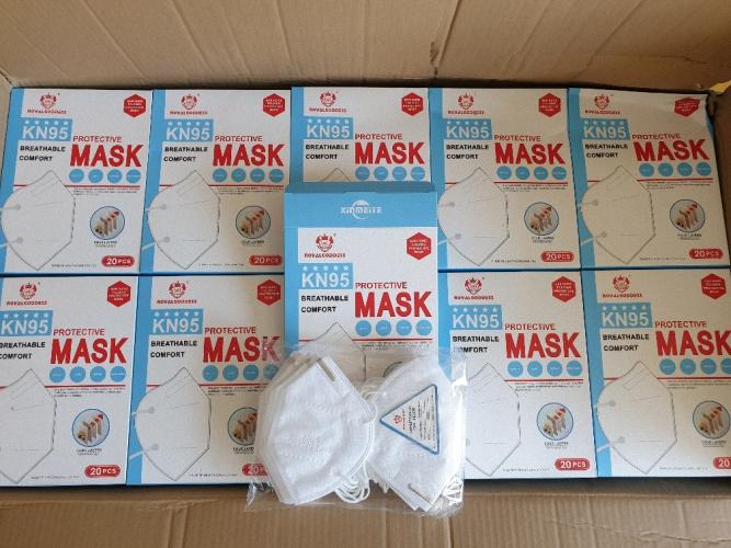 1000 Atemmasken KN95 Medizinische Maske Medizinischer Mund-Nasen-Schutz Medizinischer Mundschutz
