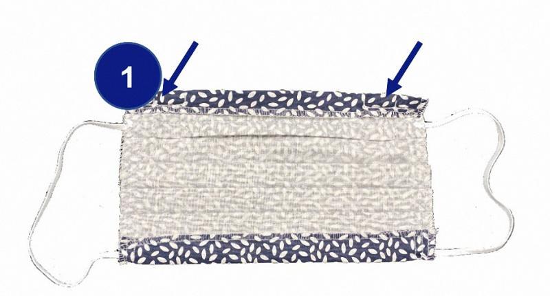 Wiederverwendbare Atemmaske hochwertige Schutzmaske Mund-Nasen-Schutz Mundschutz