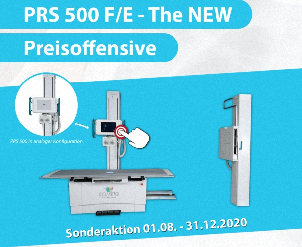 PRS 500F Analog Radiographie (DR) System