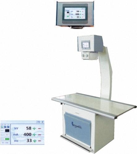 Touchscreen-Röntgengerät individuelles digitales Röntgen VET DR RÖNTGENLÖSUNG Direktradiographie Röntgen Geräte