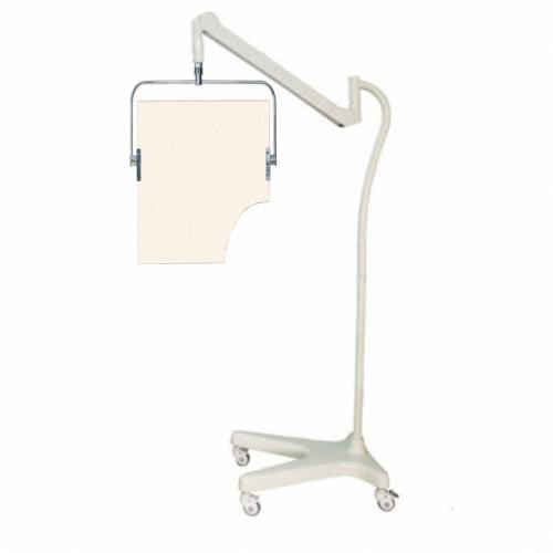 Transparente Strahlenschutz-Scheibe, fahrbares Strahlenschutzschild, Röntgen-Strahlenschutzschild  PTO-001