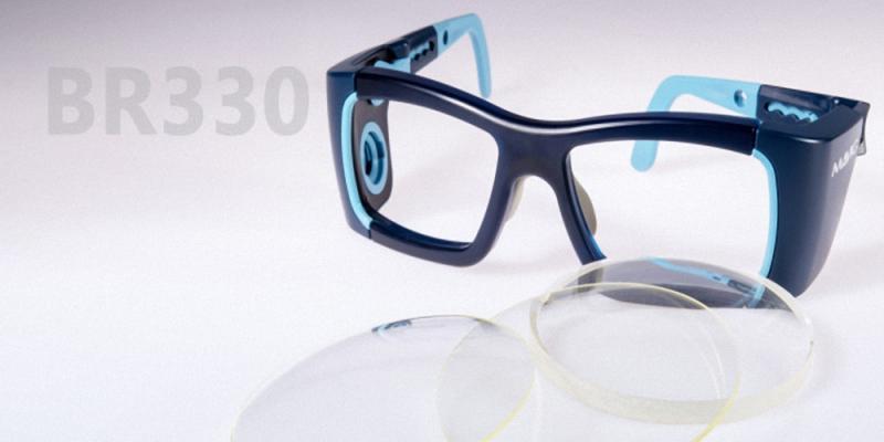 Röntgenschutzbrille BR330 mit Dosimeteranbindung