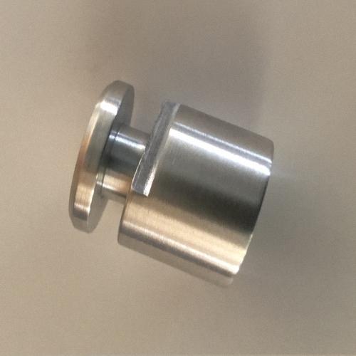 StabilerBefestigunghalteraus Vollaluminium fürBleiglasscheiben