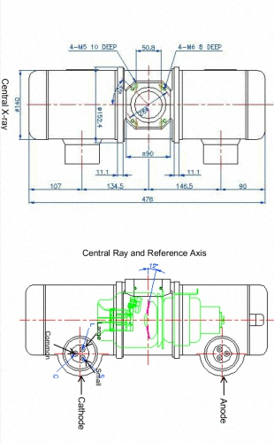 Röntgenröhre LUC-14U kompatibel zu IAE RTM 782 / IAE RTM C352 / Varian RAD-14 / Canon E7252X