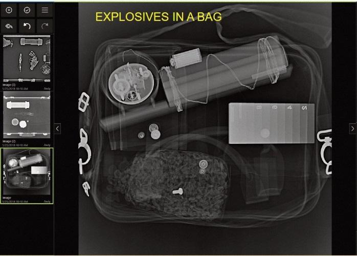 Röntgenkoffer für mobile Sicherheitseinsätze