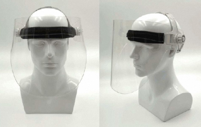 Röntgenschutzvisier Strahlenschutz Visier Strahlenschutzkleidung Bleiacrylmaske PTM002