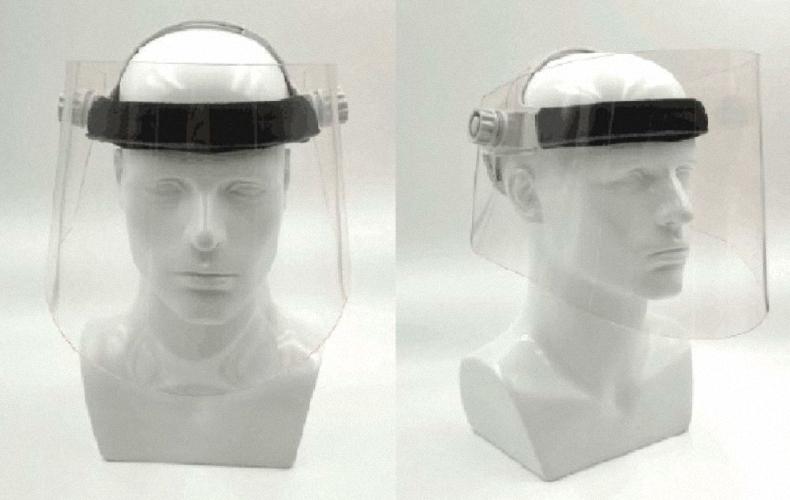 Röntgenschutzvisier Strahlenschutz Visier Strahlenschutzkleidung Bleiacrylmaske PTM004
