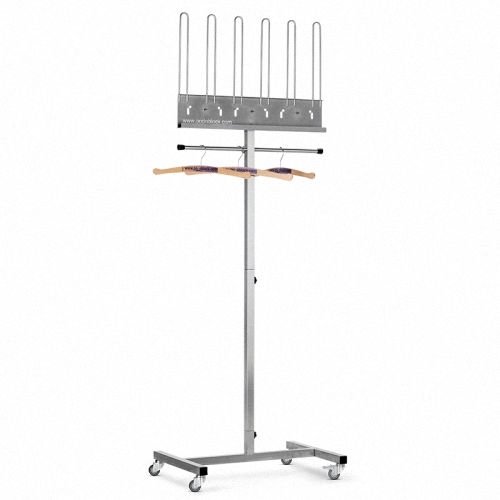 Aufbewahrungssystem/fahrbarer Ständer fürStrahlenschutzkleidung