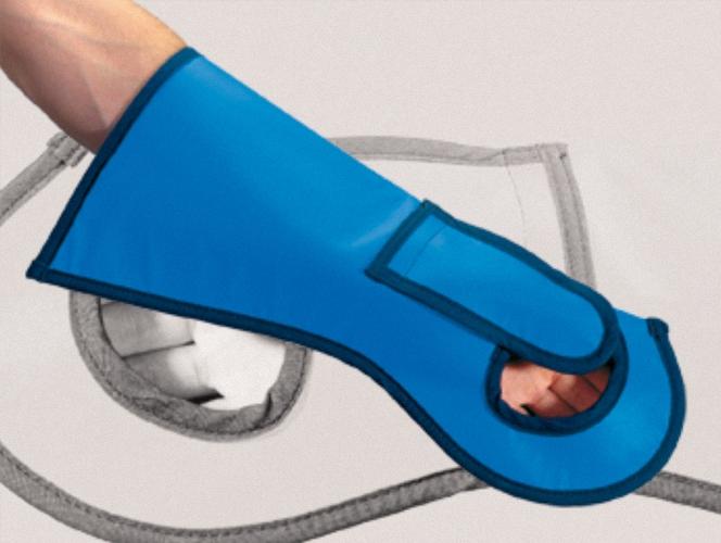Chirurgische Röntgen Handschuhe mit Daumenschutz CH