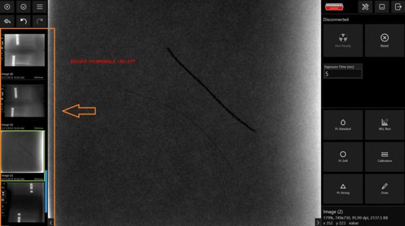 Beton Röntgen od Inspektion Durchstrahlungsprüfung Betonstahlortung Zerstörungsfreie Prüfverfahren Werkstoffprüfung Röntgenprüfung Betonstahl Ortung