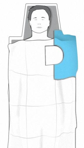 Bleifreie Einweg Strahlenschutz Abdeckungen Drapes AS100 Strahlenschutzkleidung