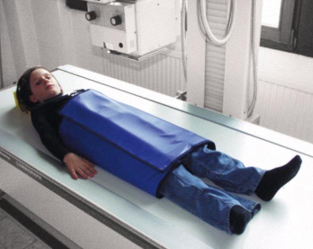 Patienten AbdeckplattenSupraTex Strahlenschutzkleidung