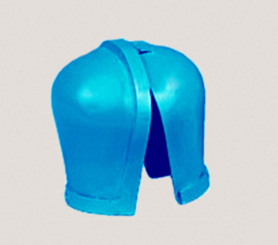 Testes Kapsel TK 0 Testesschutz Hodenkapsel Gonadenschutz Gonadenabdeckung Suspensorium Strahlenschutz Gonadenkappe Testeschutz Röntgenschutzkleidung