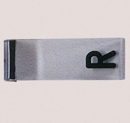 Schablone L od R mit Magnethalterung