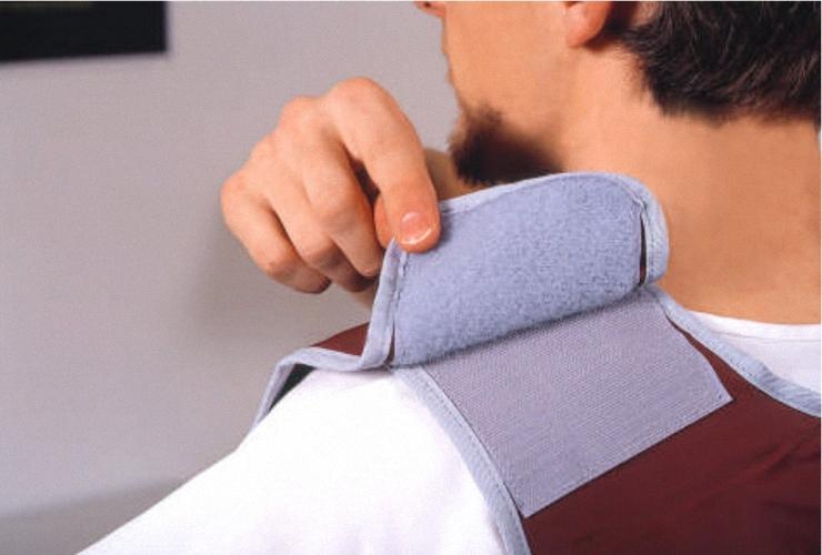 Mantelschürze DSW Nylon Strahlenschutzkleidung