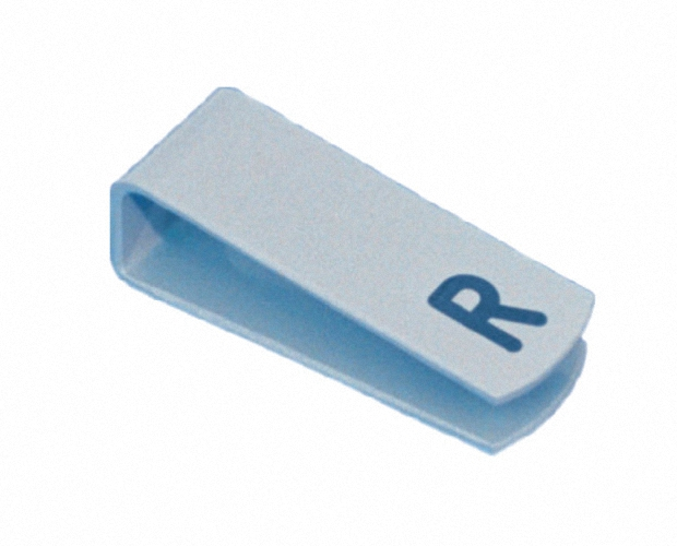 L u R Clip Kunststoff zum Aufklemmen