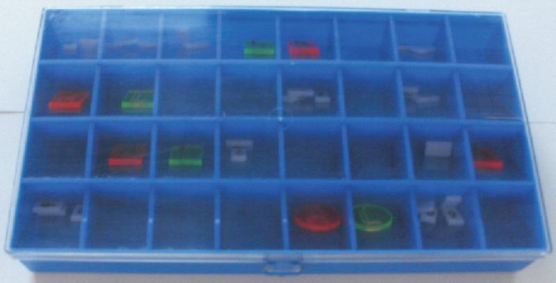 Behälter für Bleizeichen