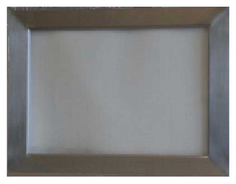 Rahmen aus Edelstahl für Bleiglasfenster