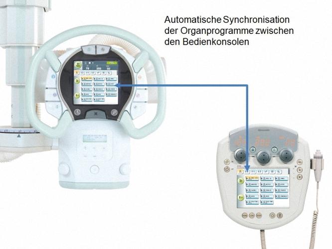 Shimadzu RADspeed Pro EDGE Radiographiesystem Röntgenanlage Buckytisch Flachdetektor Digitales Röntgen Rasterwandgerät