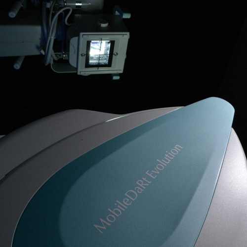 Shimadzu MobileDaRt Evolution MX7c mobiles Röntgensystem