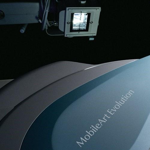 Shimadzu MobileDaRt Evolution MX7 mobiles Röntgensystem