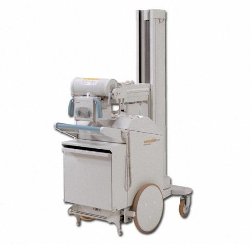 Shimadzu MobileArt Eco Mobiles Röntgen, manueller Antrieb