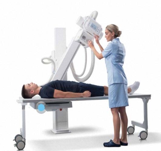 Vision X manuell positioniertes Einstiegs DR System