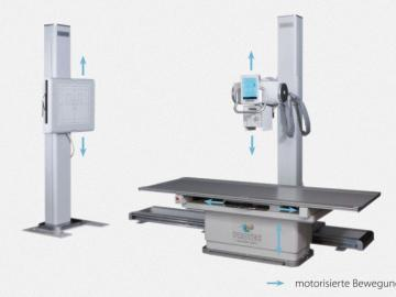 PRS 500 B Digitales Radiographie (DR) System