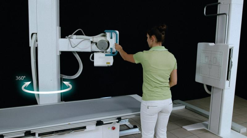 PRS 500 F Digitales Radiographie(DR) System