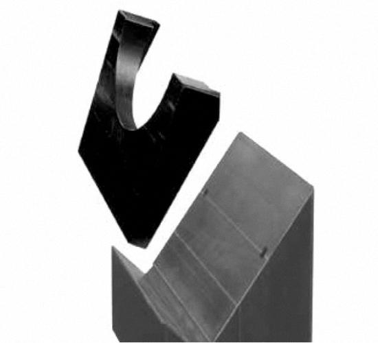 Topblock Aufsatz für den Podoblock aus vollstrahlendurchlässigem Kunststoff gefertigt