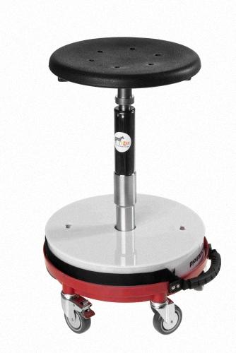 MobilerKompakthocker Scandroidist höhenverstellbar und ideal für jede moblie Anwendung