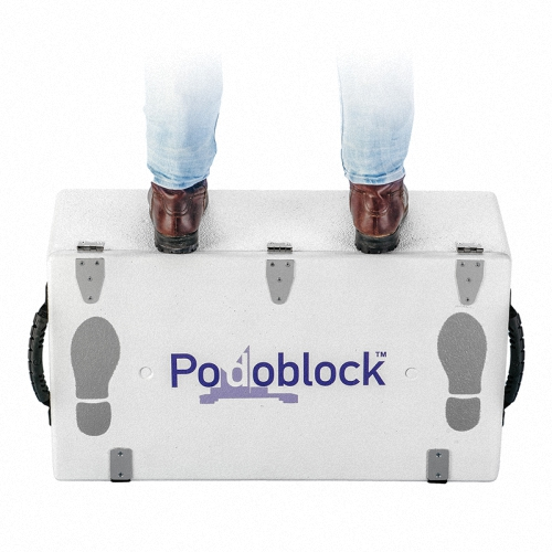 DEWsterStep Up Step Down Koffer aus beschichtetem Polystyrol
