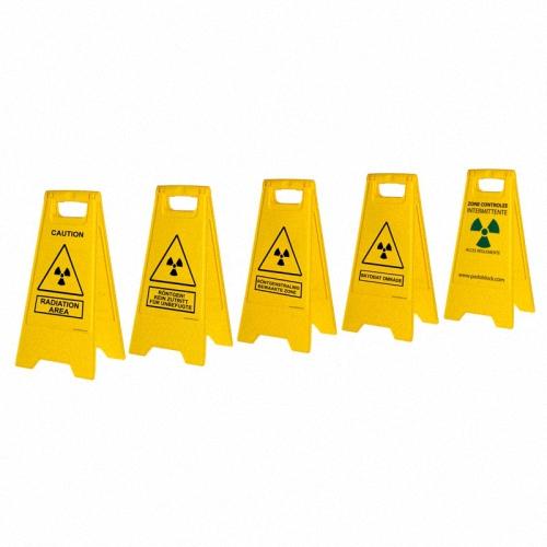 Mobiles Warnzeichen Strahlung Röntgen