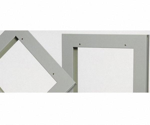 Befestigungsteile für Bleiglasscheiben