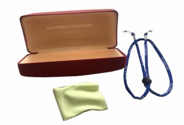 Röntgenschutzbrille PTG 008A Strahlenschutz Augenschutz Bügelbrille Strahlenschutzprodukt