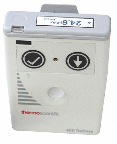 Überwachungsgerät Dosiswarner Elektronisches Personendosimeter EPD TruDose Gamma