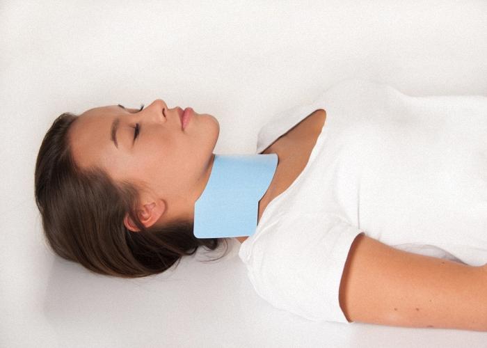 CT Schilddrüsenschutz Thyreoidschutz Sternumschutz Strahlenschutzkleidung Röntgenkragen