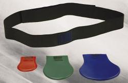 Flexibler Gonadenschutz und elastischem Hüftgurt